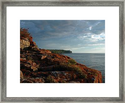 Daybreak At Campsite 19 Framed Print by James Peterson