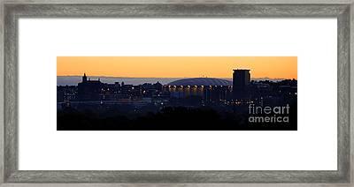 Daybreak At Syracuse Framed Print by Steve Ratliff