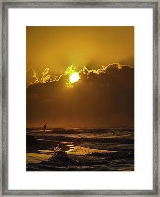 Daybreak Framed Print by CarolLMiller Photography