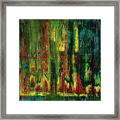 Daybreak In Sequoia Forest Framed Print