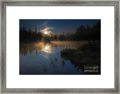 Daybreak Framed Print by Mike Dawson