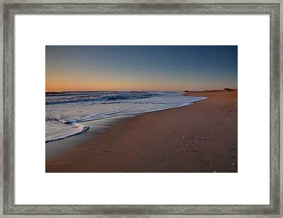 Daybreak On Hatteras Framed Print by Steven Ainsworth