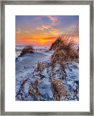 Daybreak On The Outer Banks 3 Framed Print