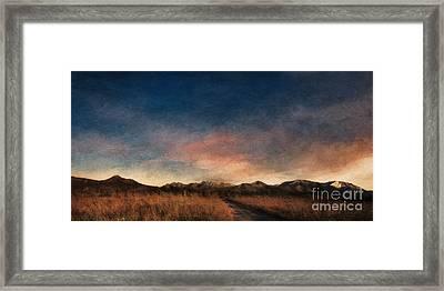 Daybreak Framed Print by Priska Wettstein