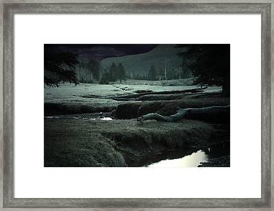 Daybreak Thick Framed Print