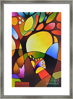 Daydream Canvas Three Framed Print