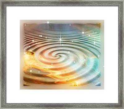 Daydreamer's Pool Framed Print by Wendy J St Christopher