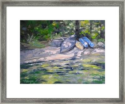 Daydreaming... Framed Print by Lori Pittenger