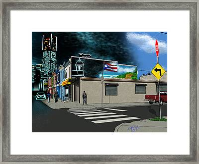 Daydreaming Framed Print by Luis Garcia