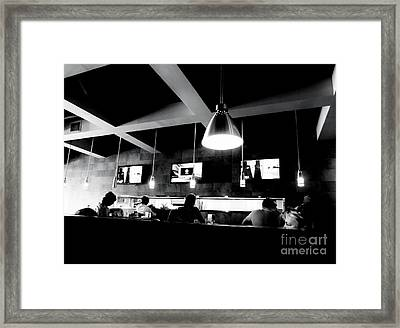 Framed Print featuring the photograph Dayhawks by Amar Sheow