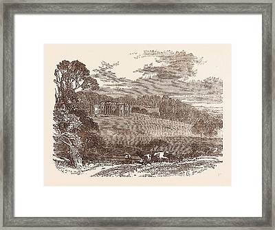 Daylesford House, Worcestershire, The Seat Of The Right Hon Framed Print by English School