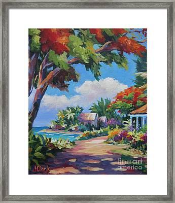 Daylight And Shade Framed Print by John Clark