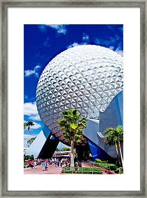 Daylight Dome Framed Print by Greg Fortier