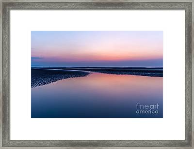 Days End Framed Print by Adrian Evans