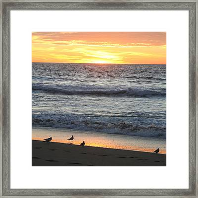 Days End Framed Print by Art Block Collections