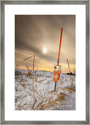 Days End At Plum Island Framed Print by Scott Thorp