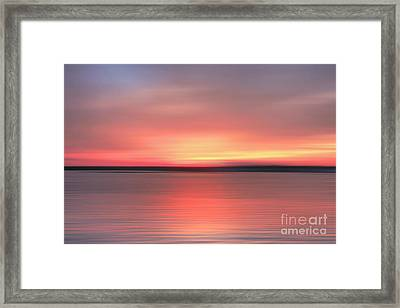 Day's End Framed Print by Benanne Stiens