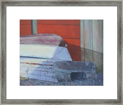 Days End Framed Print