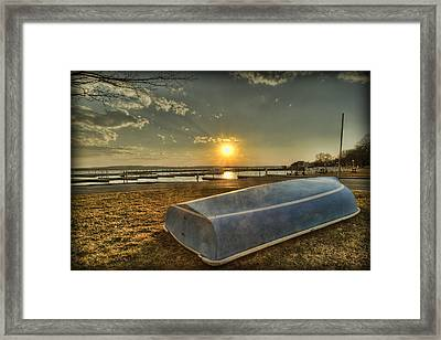Day's End Framed Print by Chris Babcock