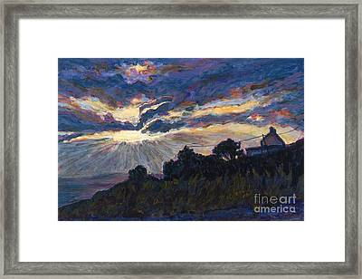 Day's End - Dingle Bay Framed Print by Betsee  Talavera
