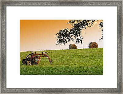 Day's End Framed Print by Mary Beth Landis
