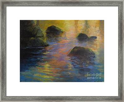 Day's End Framed Print by Melody Cleary