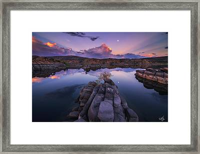 Days End Framed Print by Peter Coskun