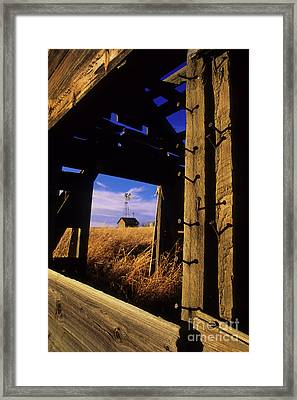 Days Gone By Framed Print by Bob Christopher