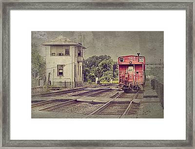 Days Gone By Framed Print by Donald Schwartz