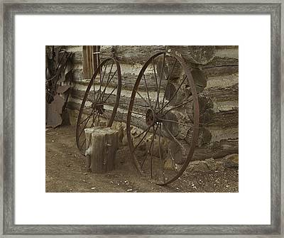 Days Gone By Framed Print by Kathleen Scanlan