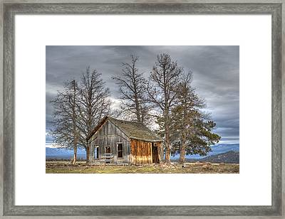 Days Gone By Framed Print by Loree Johnson