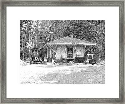 Days Gone By Framed Print by Marcia Lee Jones
