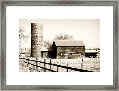 Days Gone By Framed Print by Marilyn Hunt