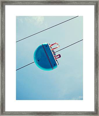 Days Like This - Santa Cruz Framed Print