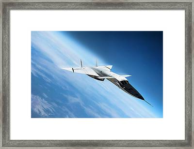 Days Of Future Passed Xb-70 Framed Print by Peter Chilelli