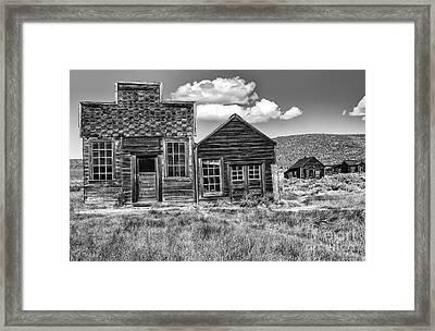 Days Of Glory Gone Framed Print by Sandra Bronstein