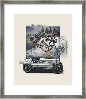 Days Of Glory Framed Print by Roger Beltz