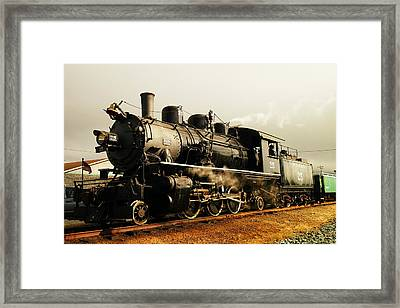 Days Of Steam And Steel Framed Print by Jeff Swan