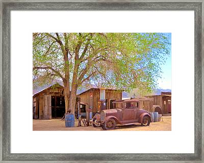 Framed Print featuring the photograph Days Past by Marilyn Diaz