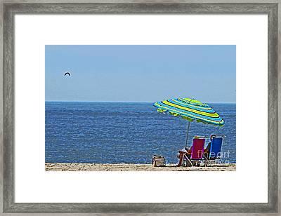 Daytime Relaxation Framed Print