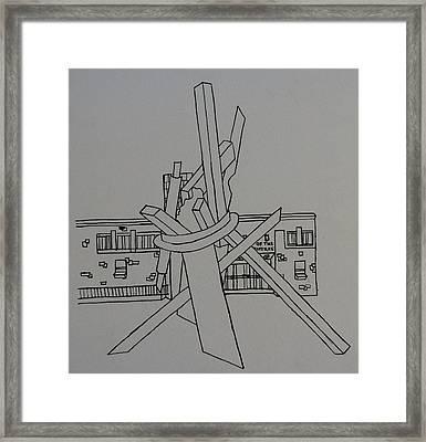 Dayton Art Institute Framed Print by Erika Chamberlin