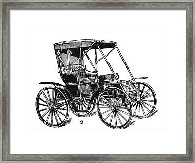 Dayton Automobile, C1905 Framed Print by Granger