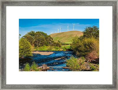Framed Print featuring the photograph Dayton by Chris McKenna