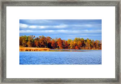 Dayton Lake Framed Print