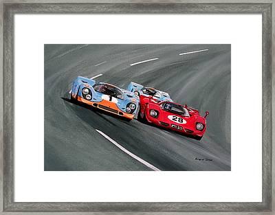 Daytona 1970 Framed Print