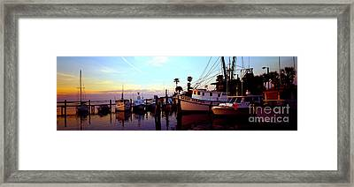 Daytona Beach Fl Last Chance Miss Hazel And Sonny Boy Framed Print by Tom Jelen