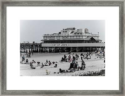 Daytona Beach Pier Framed Print