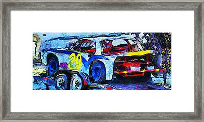 Daytona Bound Number 29 Framed Print