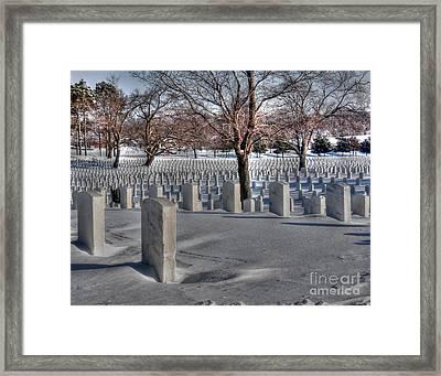Dayton's Home For Heroes Framed Print