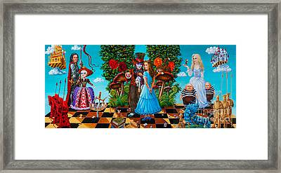 Daze Of Alice Framed Print